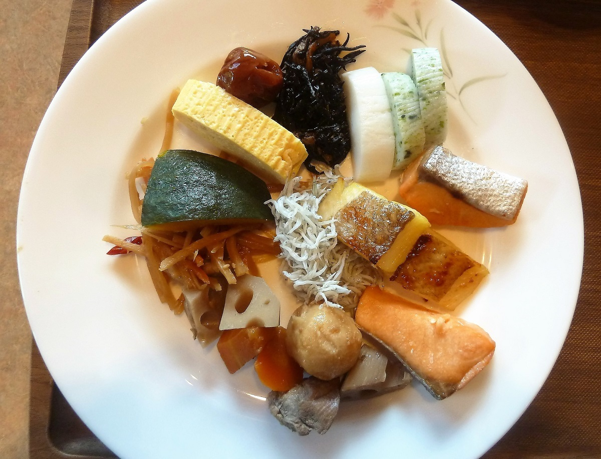 大谷山荘 朝食�U.JPG